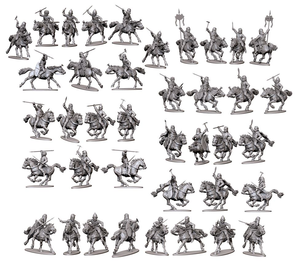 April Persian Cavalry #3 - Victrix
