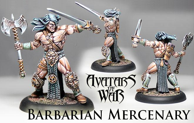 Barbarian Mercenary #2 - Avatars Of War