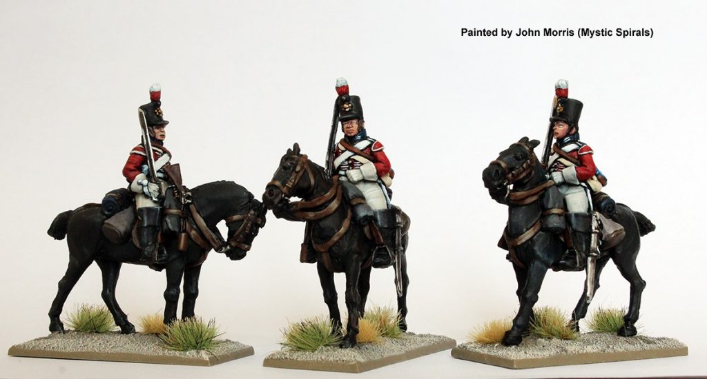 British Heavy Dragoons Painted #1 - Perry Miniatures