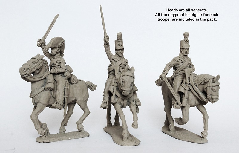 British Heavy Dragoons Riders - Perry Miniatures