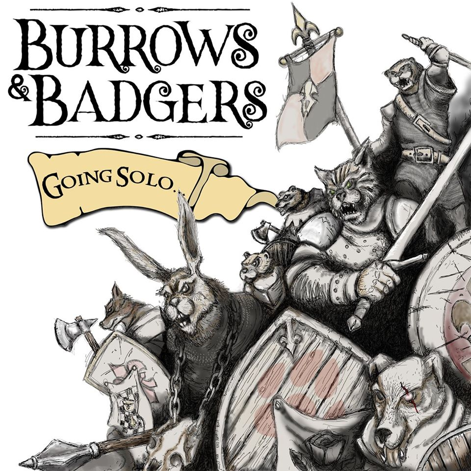 Burrows & Badgers Going Solo - Oathsworn Miniatures