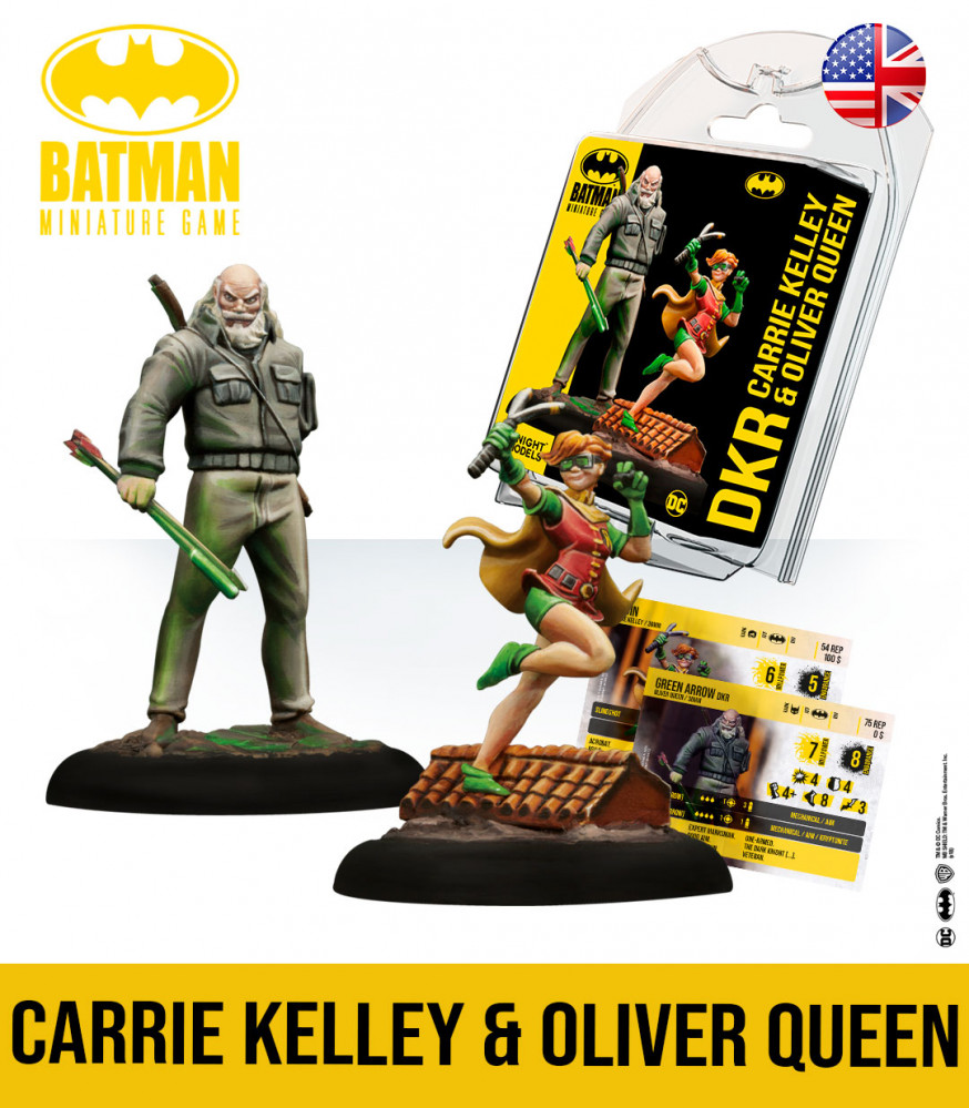 Carrie Kelley & Oliver Queen - Knight Models