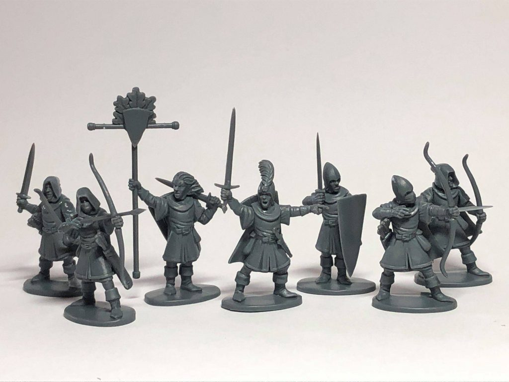 Elf Light Infantry Unpainted - Oathmark