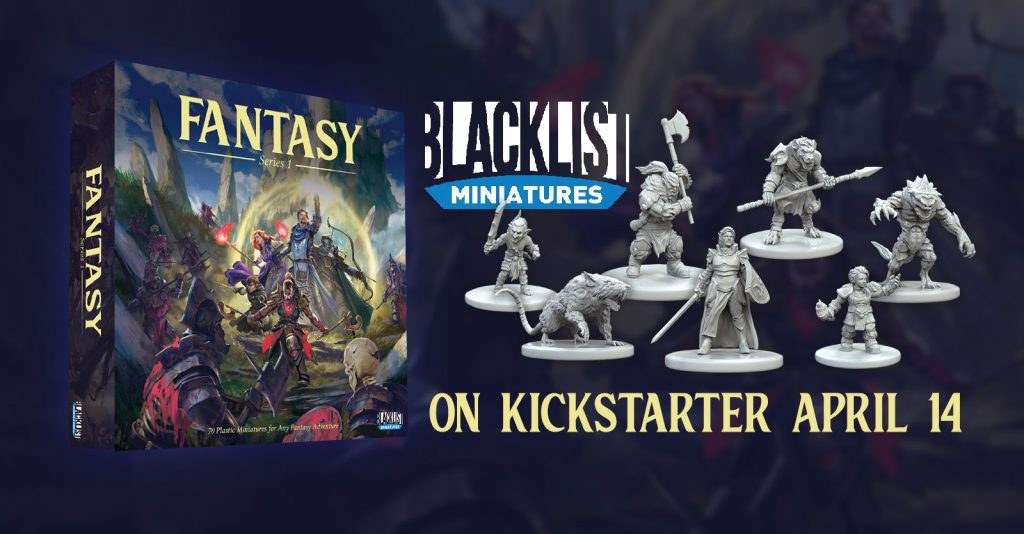 Fantasy Series 1 - Blacklist Miniatures