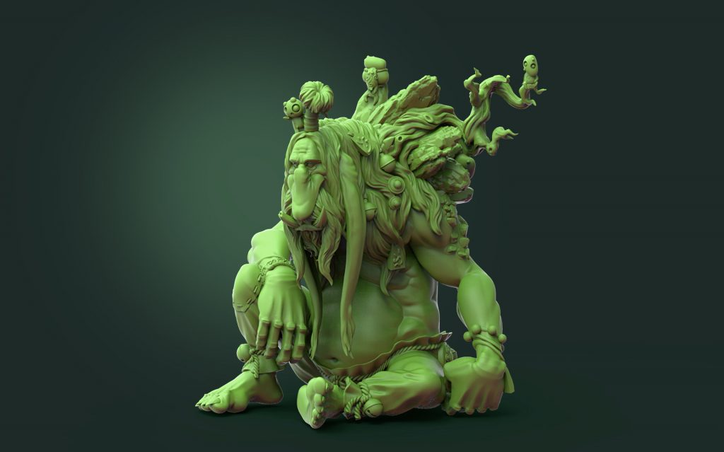 Forest Troll #1 - Durgin Paint Forge