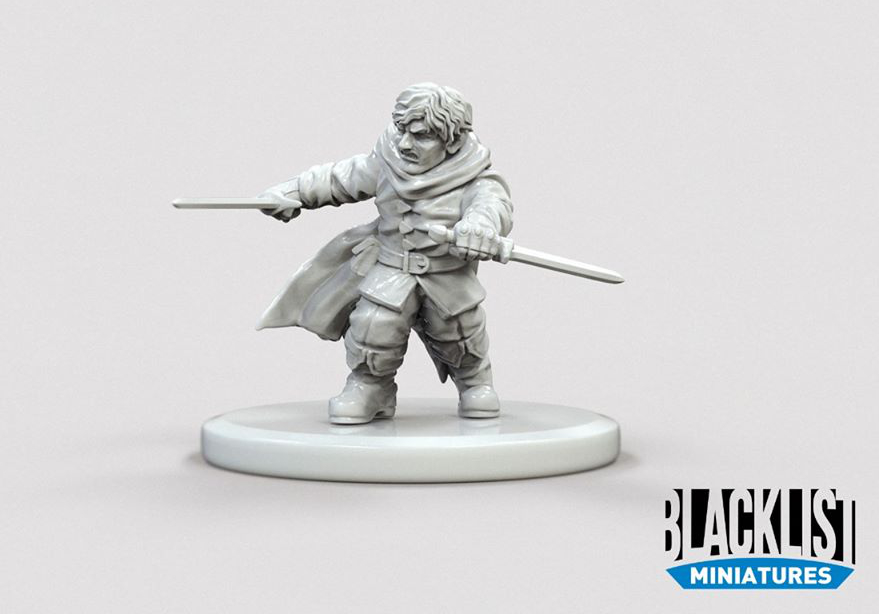 Gnome Rogue - Blacklist Miniatures