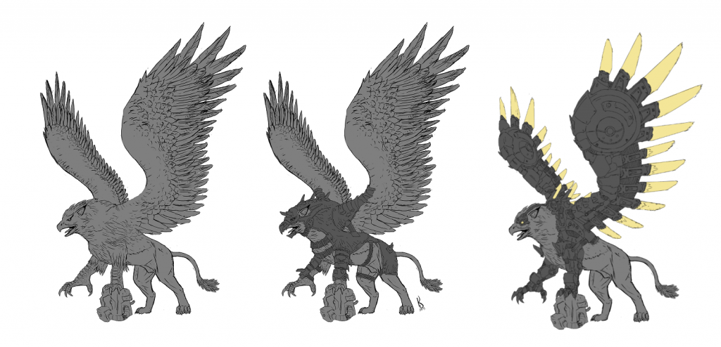 Gryphon - Gangs Of The Undercity