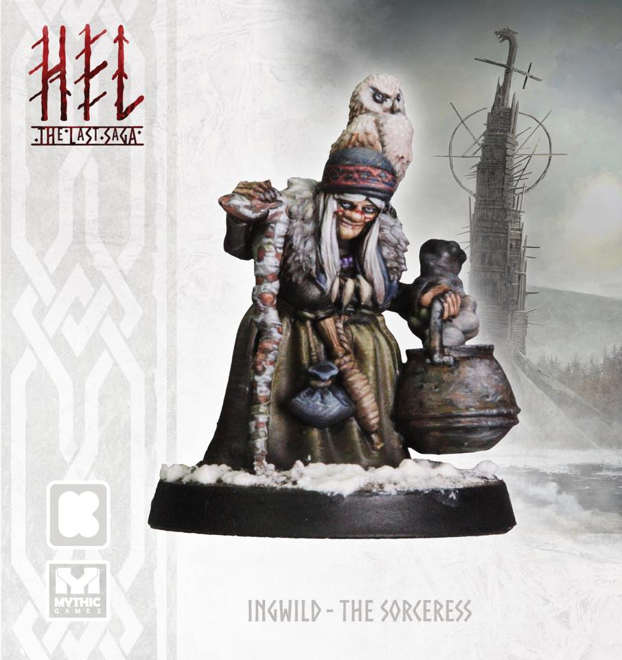 Ingwild The Sorceress Painted - Mythic Games