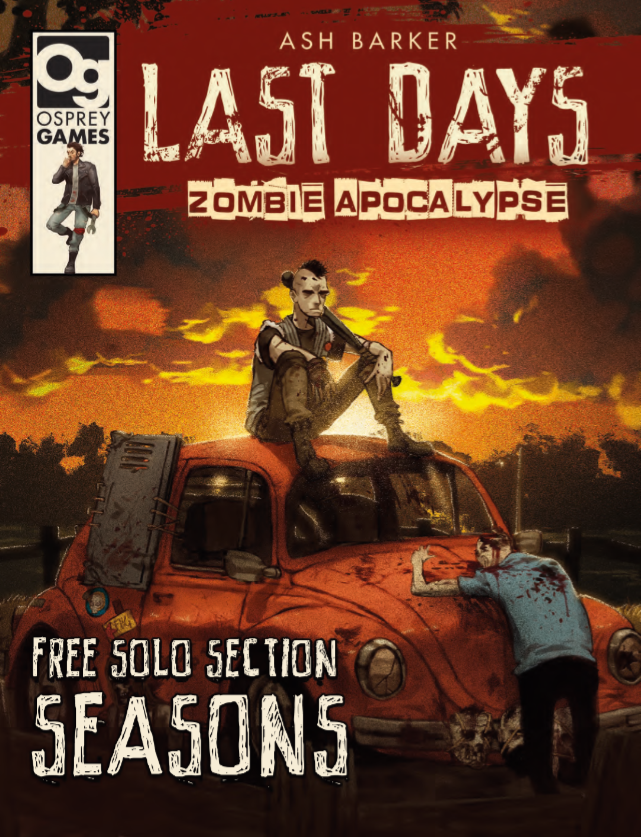 Last Days Solo Download - Osprey Games