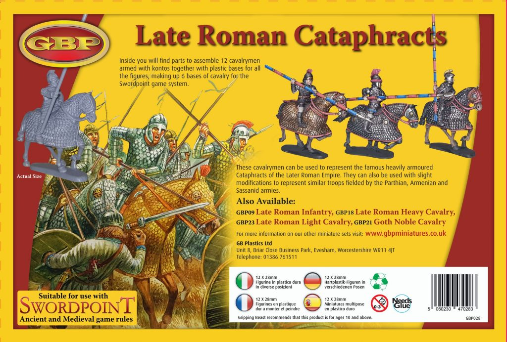 Late Roman Cataphracts #2 - Gripping Beast