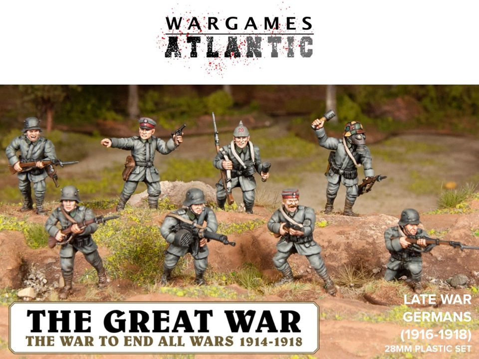 Late World War I Germans Painted - Wargames Atlantic