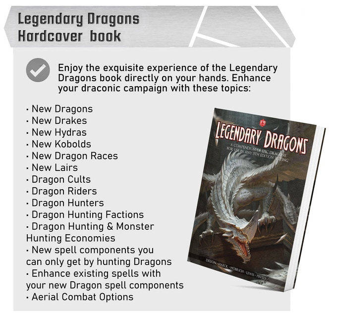 Legendary Dragons Book - Lair