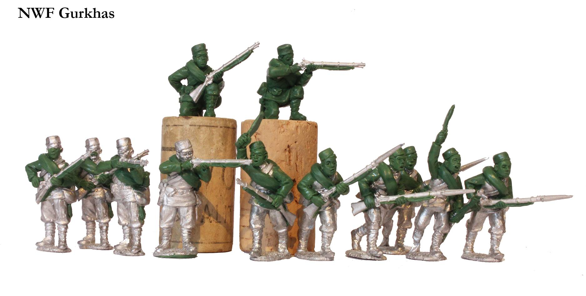 NW Frontier Gurkhas - Perry Miniatures