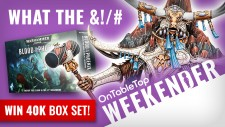 Weekender: WIN Warhammer 40K Starter Box + Oathmark; The Next Big Fantasy Wargame?