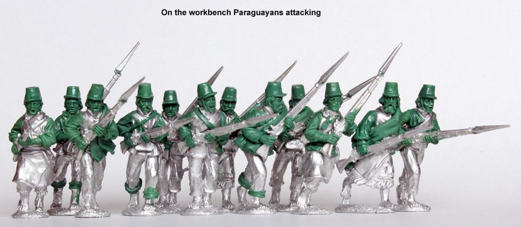 Paraguayans Attacking - Perry Miniatures
