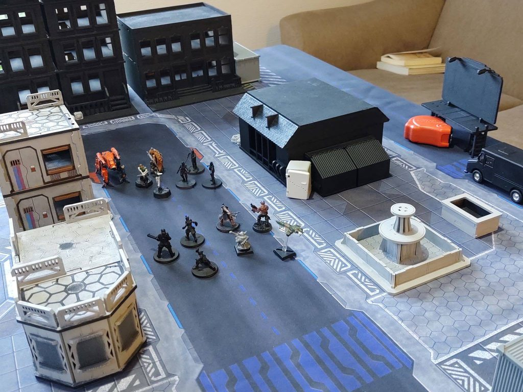 Playtesting The Game - Gangs Of The Undercity