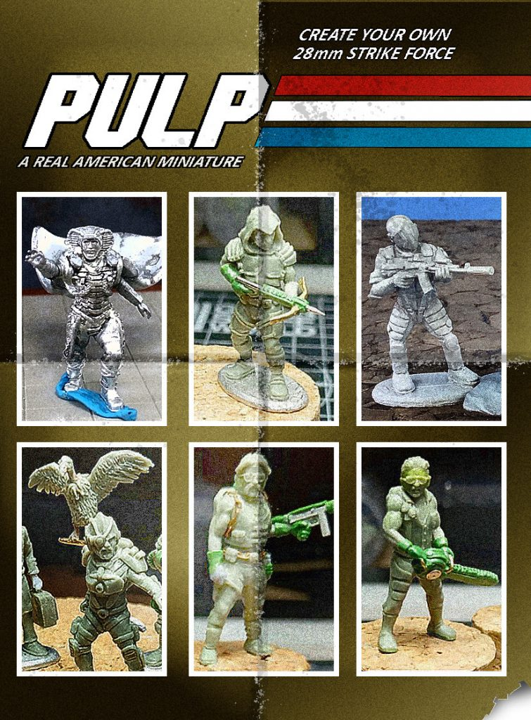 Pulp Strike Force #1 - Footsore North America