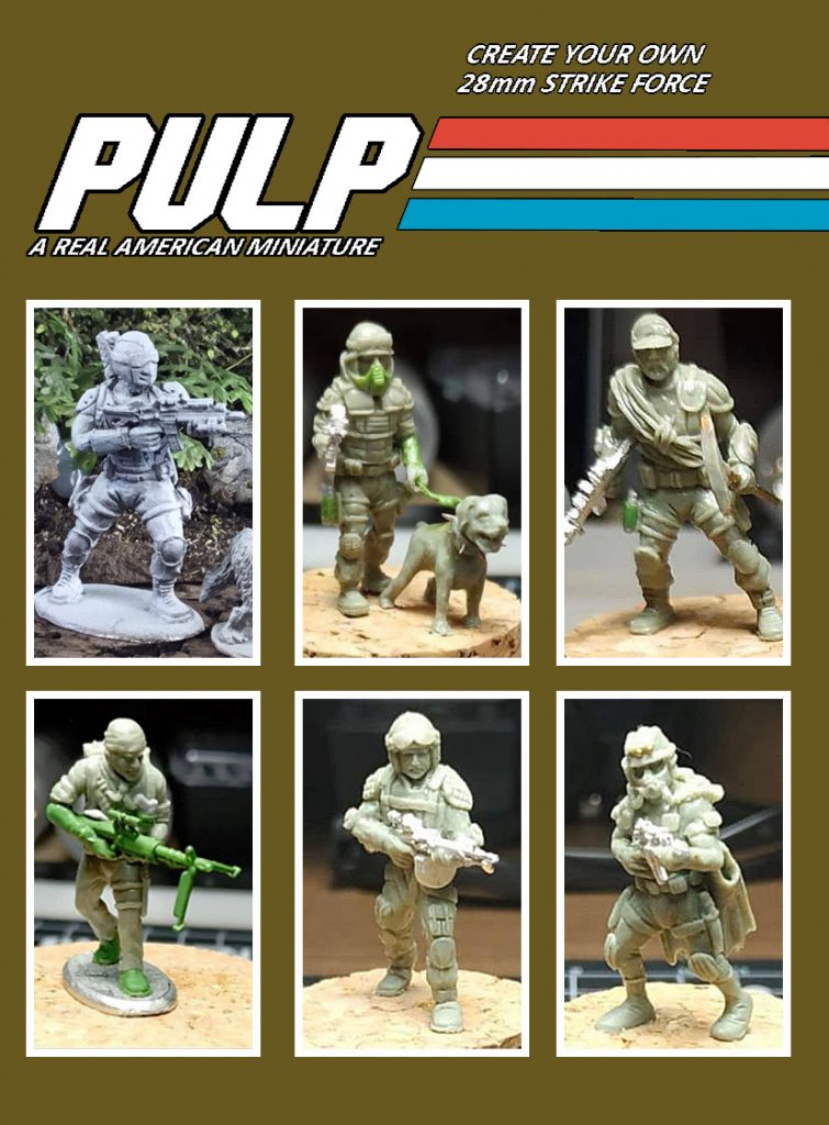 Pulp Strike Force #2 - Footsore North America