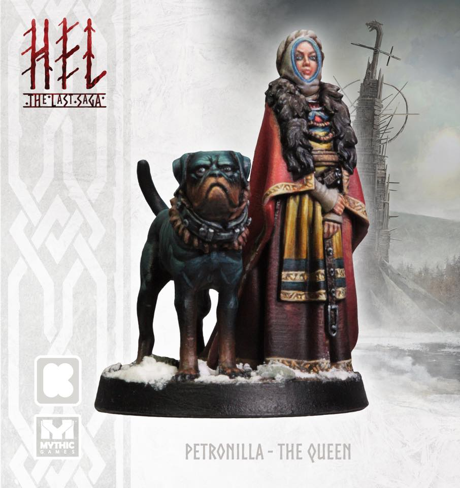 Queen Petronilla Painted - Mythic Games