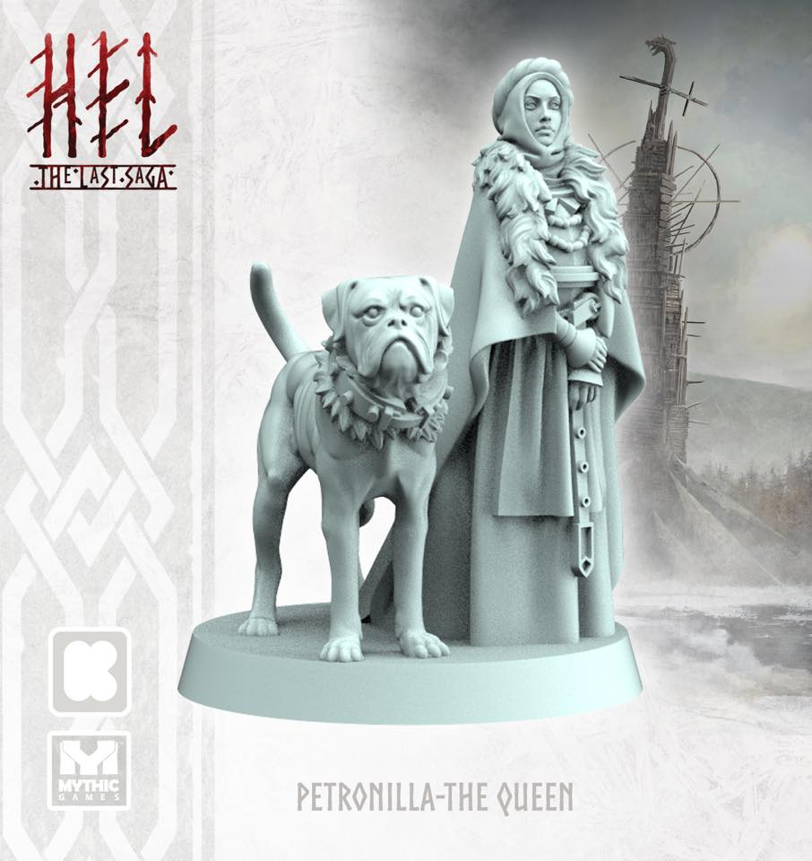 Queen Petronilla Render - Mythic Games