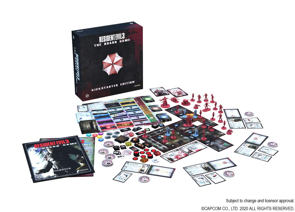 Resident Evil 3 Board Game Main - Steamforged Games