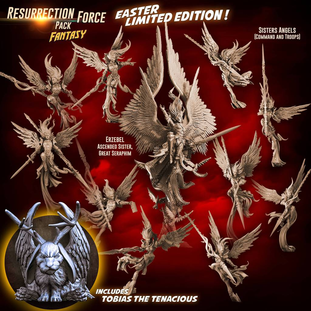 Resurrection Force Pack - Raging Heroes