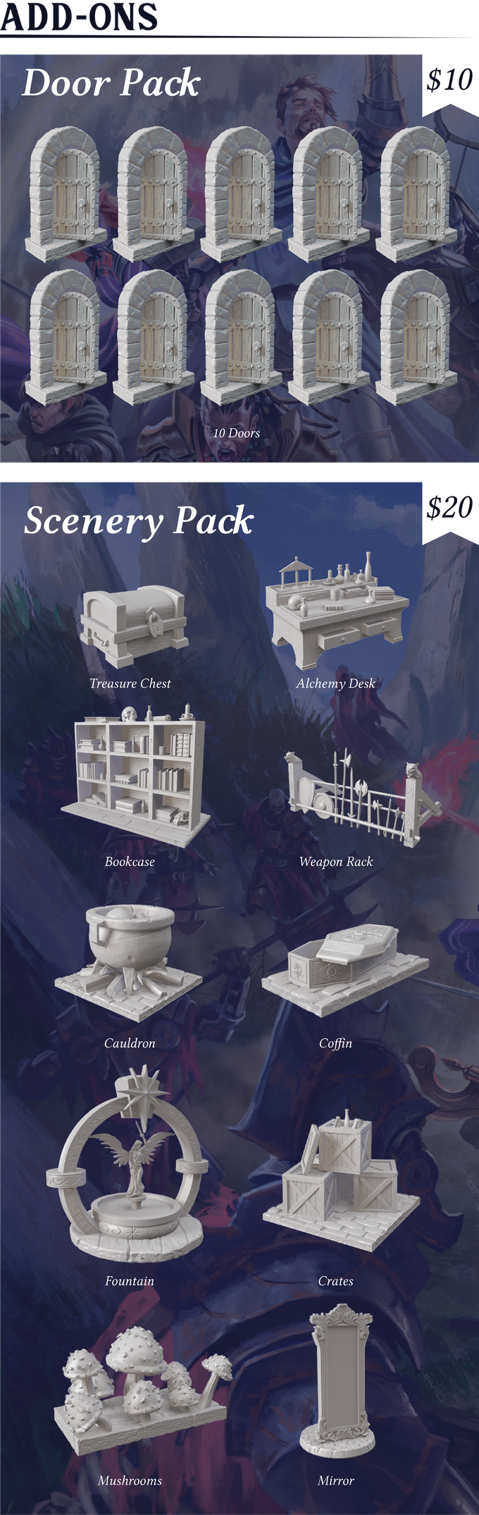 Scenery Pack - Blacklist Games