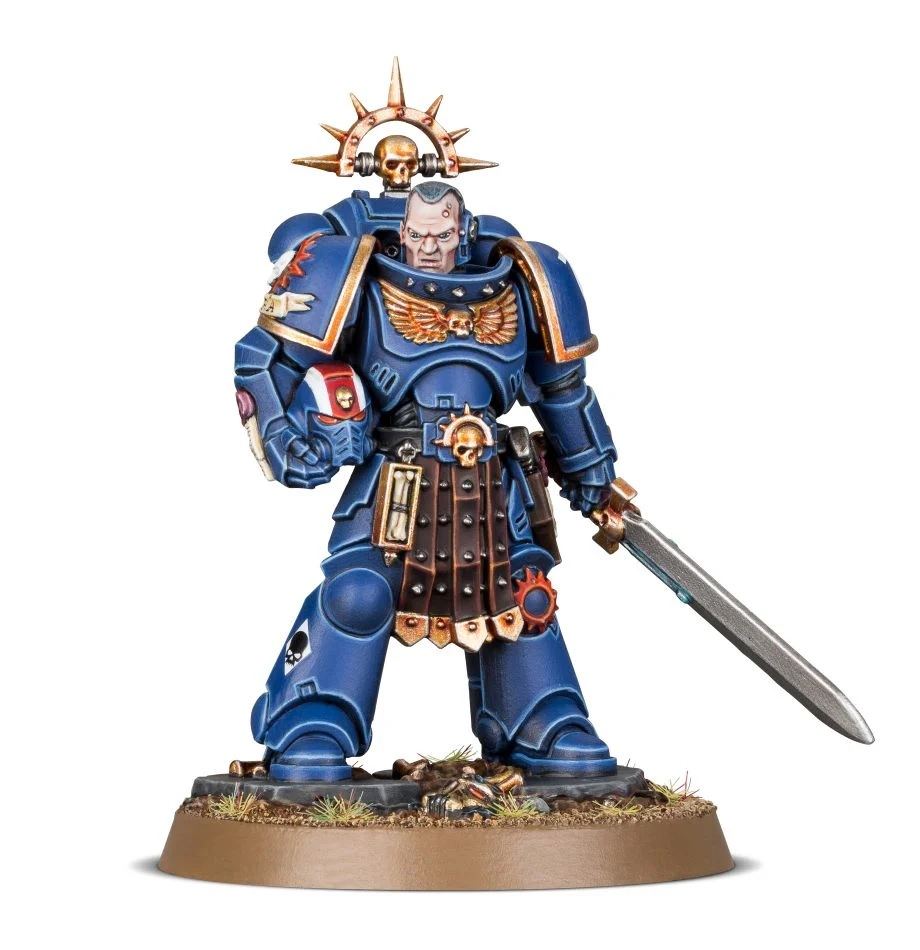 Space Marine Lieutenant Amulius #1 - Games Workshop