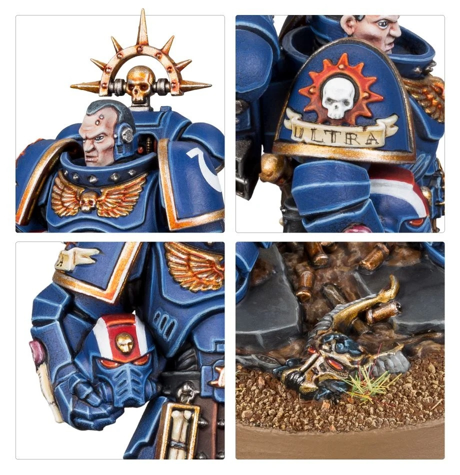 Space Marine Lieutenant Amulius #2 - Games Workshop