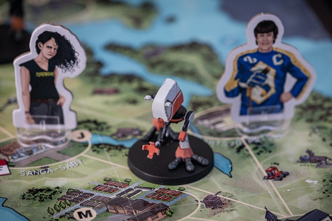 Tales from the loop boardgame