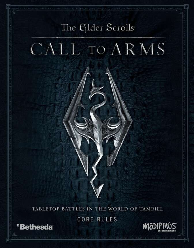 The Elder Scrolls Call To Arms Core Rules - Modiphius
