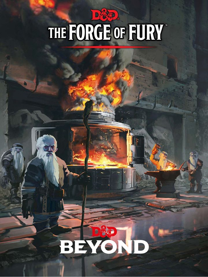 The Forge Of Fury Adventure - Dungeons & Dragons