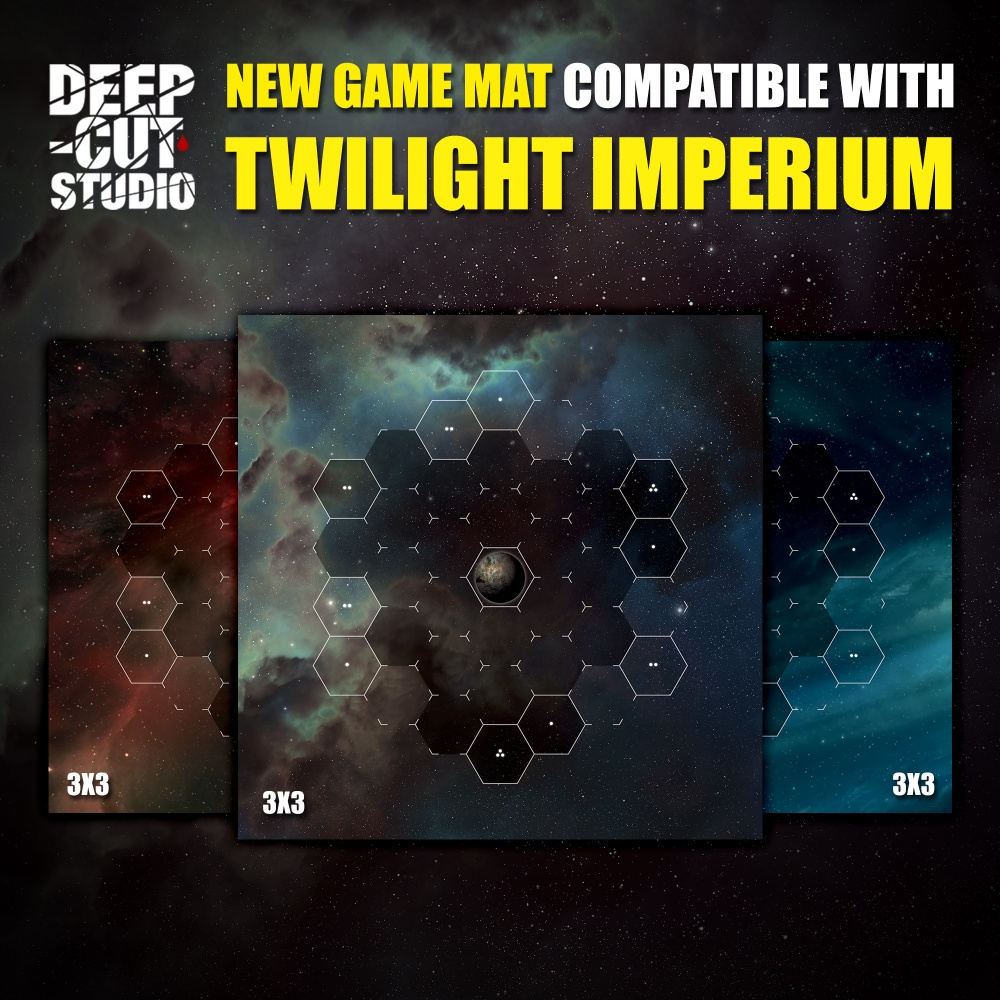 Take To The Stars With Deep Cut Twilight Imperium Mats Ontabletop Home Of Beasts Of War