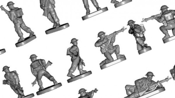 12mm British Infantry Hit The Beach For Victrix's WWII Range