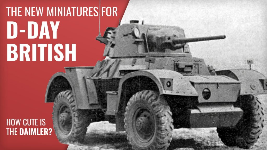 New Releases for D-Day British Forces | Battlefront Miniatures