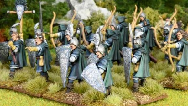 North Star Show Off Painted Oathmark Elf Light Infantry
