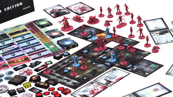Steamforged Announce Resident Evil 3 Board Game Kickstarter