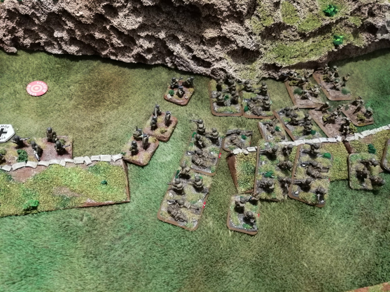 The Fallschirmjager Company Command lead the charge into the Polish