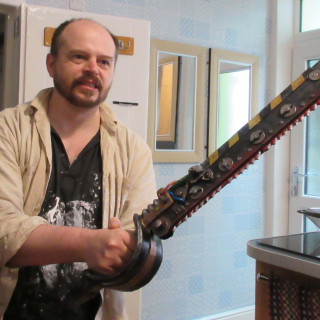 The finished Chainsword