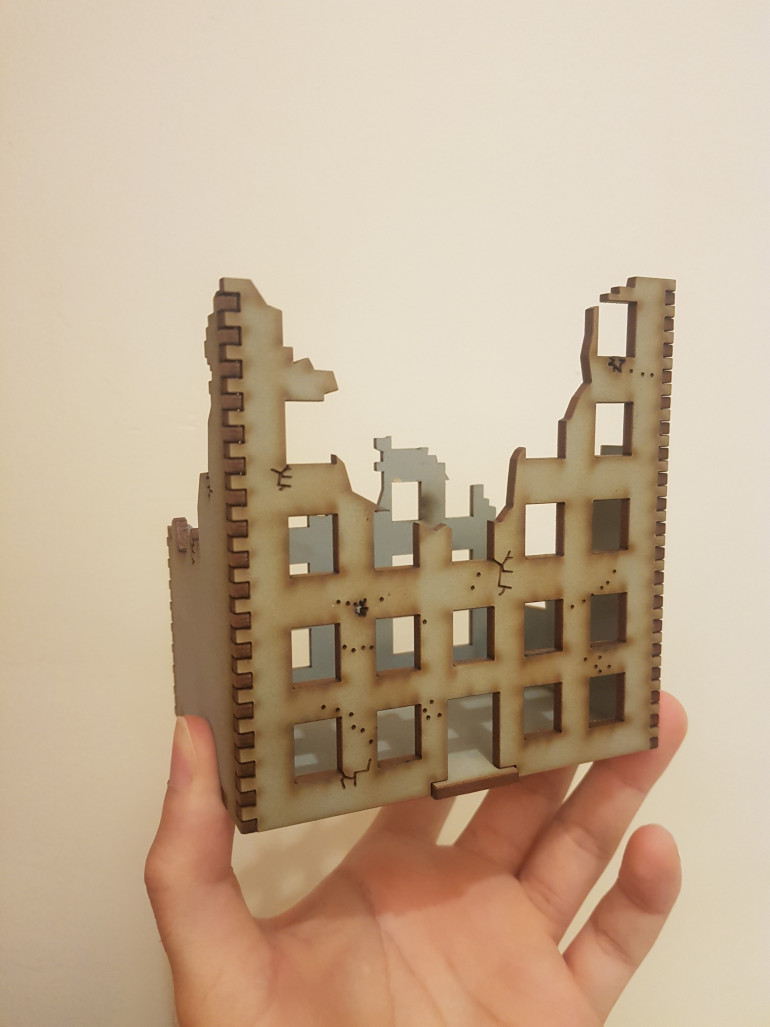 Battle Kiwi City Ruins Piece