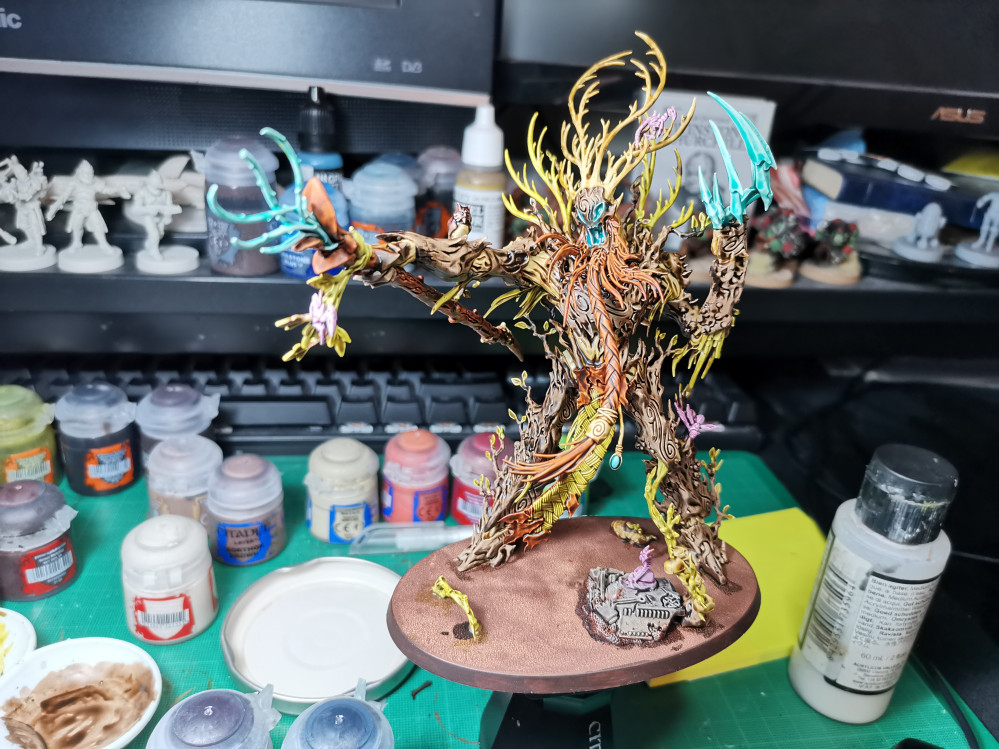 Sylvaneth – Painting an Army (Spring Clean)