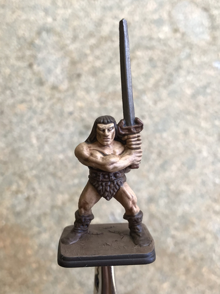 Finished Barbarian