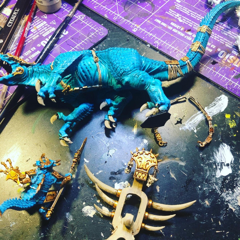 The Stream starts! Or the first Miniature to paint and why I chose that one.