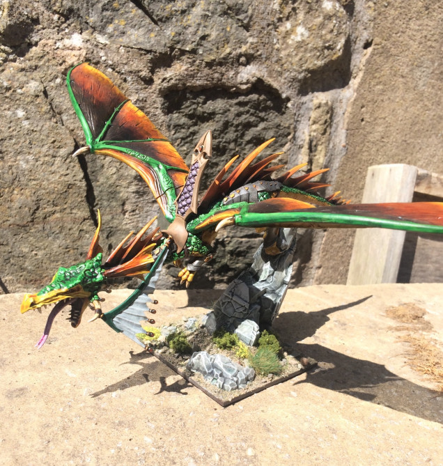 Dragon finished but I'll not count it's points till I do a rider for it.