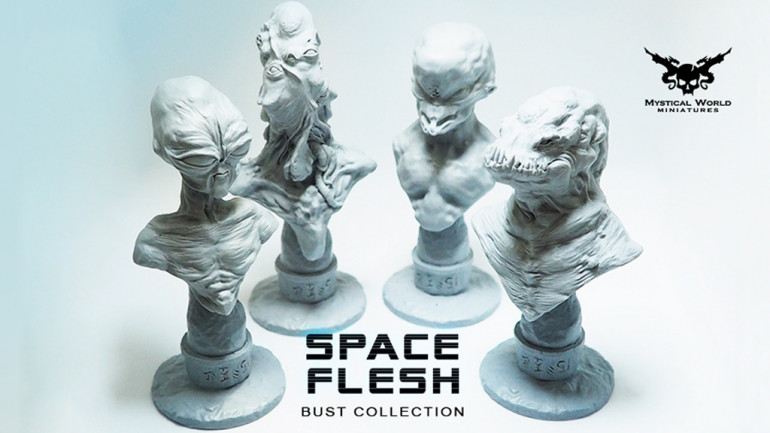 SPACE FLESH - BUST COLLECTION