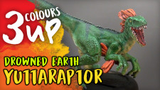 3 Colours Up: Drowned Earth – Yuttaraptor