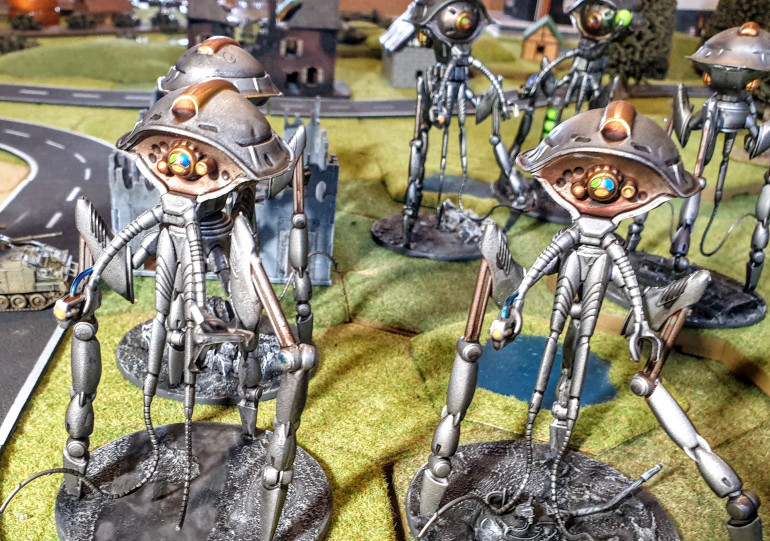 The bases under the Martians (and Scouts)
