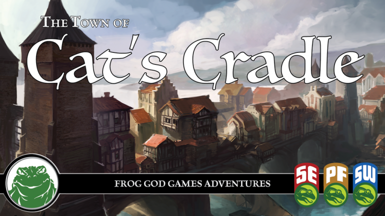 Cat's Cradle: A Fantasy Town for 5e and Other RPG Systems