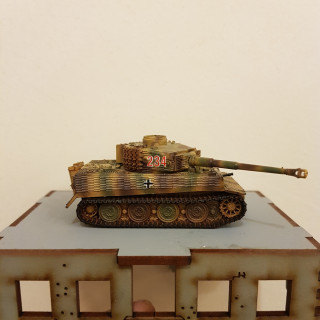 Painting the First Tank