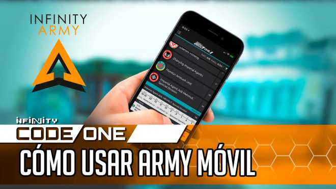 [Infinity CodeOne] How To Use The Infinity Army Mobile App